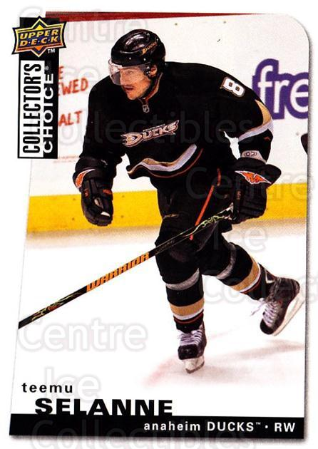 2008-09 Collectors Choice #182 Teemu Selanne<br/>3 In Stock - $2.00 each - <a href=https://centericecollectibles.foxycart.com/cart?name=2008-09%20Collectors%20Choice%20%23182%20Teemu%20Selanne...&quantity_max=3&price=$2.00&code=279858 class=foxycart> Buy it now! </a>