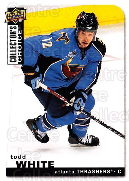 2008-09 Collectors Choice #186 Todd White<br/>3 In Stock - $1.00 each - <a href=https://centericecollectibles.foxycart.com/cart?name=2008-09%20Collectors%20Choice%20%23186%20Todd%20White...&quantity_max=3&price=$1.00&code=279862 class=foxycart> Buy it now! </a>