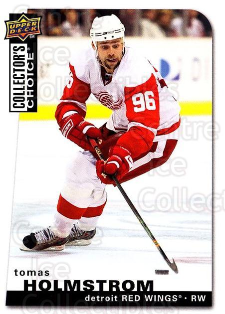 2008-09 Collectors Choice #187 Tomas Holmstrom<br/>3 In Stock - $1.00 each - <a href=https://centericecollectibles.foxycart.com/cart?name=2008-09%20Collectors%20Choice%20%23187%20Tomas%20Holmstrom...&quantity_max=3&price=$1.00&code=279863 class=foxycart> Buy it now! </a>
