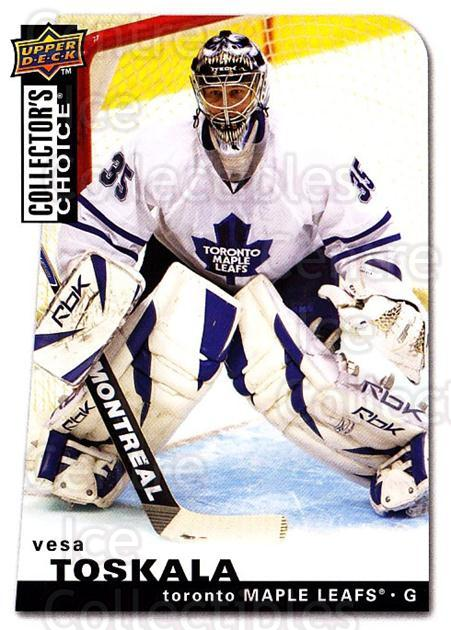 2008-09 Collectors Choice #195 Vesa Toskala<br/>3 In Stock - $1.00 each - <a href=https://centericecollectibles.foxycart.com/cart?name=2008-09%20Collectors%20Choice%20%23195%20Vesa%20Toskala...&quantity_max=3&price=$1.00&code=279871 class=foxycart> Buy it now! </a>