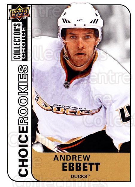 2008-09 Collectors Choice #211 Andrew Ebbett<br/>3 In Stock - $2.00 each - <a href=https://centericecollectibles.foxycart.com/cart?name=2008-09%20Collectors%20Choice%20%23211%20Andrew%20Ebbett...&quantity_max=3&price=$2.00&code=279887 class=foxycart> Buy it now! </a>