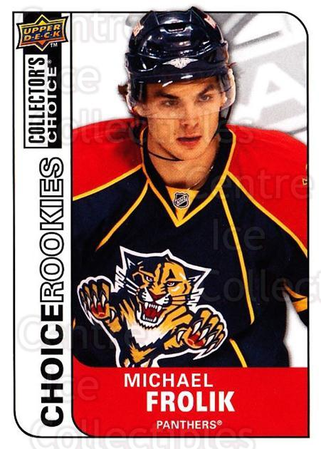 2008-09 Collectors Choice #215 Michael Frolik<br/>4 In Stock - $2.00 each - <a href=https://centericecollectibles.foxycart.com/cart?name=2008-09%20Collectors%20Choice%20%23215%20Michael%20Frolik...&quantity_max=4&price=$2.00&code=279891 class=foxycart> Buy it now! </a>
