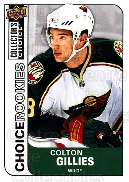 2008-09 Collectors Choice #216 Colton Gillies<br/>4 In Stock - $2.00 each - <a href=https://centericecollectibles.foxycart.com/cart?name=2008-09%20Collectors%20Choice%20%23216%20Colton%20Gillies...&quantity_max=4&price=$2.00&code=279892 class=foxycart> Buy it now! </a>