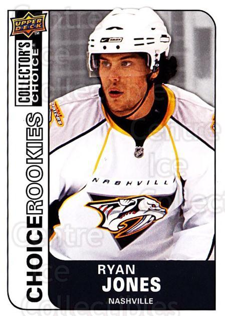 2008-09 Collectors Choice #222 Ryan Jones<br/>2 In Stock - $2.00 each - <a href=https://centericecollectibles.foxycart.com/cart?name=2008-09%20Collectors%20Choice%20%23222%20Ryan%20Jones...&quantity_max=2&price=$2.00&code=279898 class=foxycart> Buy it now! </a>