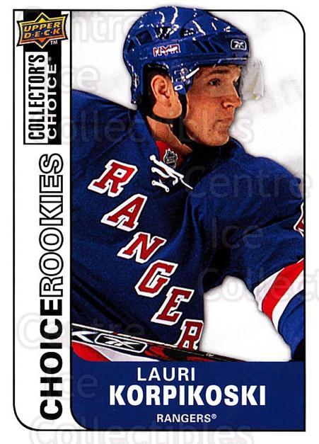 2008-09 Collectors Choice #223 Lauri Korpikoski<br/>2 In Stock - $2.00 each - <a href=https://centericecollectibles.foxycart.com/cart?name=2008-09%20Collectors%20Choice%20%23223%20Lauri%20Korpikosk...&quantity_max=2&price=$2.00&code=279899 class=foxycart> Buy it now! </a>