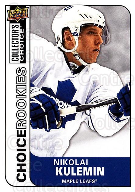 2008-09 Collectors Choice #224 Nikolai Kulemin<br/>3 In Stock - $2.00 each - <a href=https://centericecollectibles.foxycart.com/cart?name=2008-09%20Collectors%20Choice%20%23224%20Nikolai%20Kulemin...&quantity_max=3&price=$2.00&code=279900 class=foxycart> Buy it now! </a>