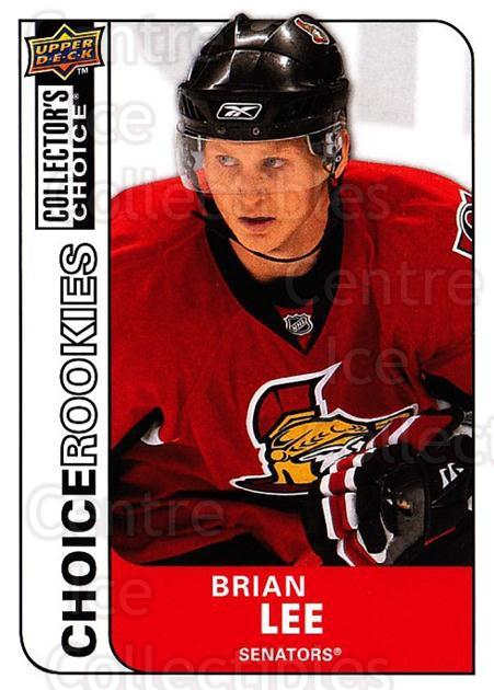 2008-09 Collectors Choice #225 Brian Lee<br/>3 In Stock - $2.00 each - <a href=https://centericecollectibles.foxycart.com/cart?name=2008-09%20Collectors%20Choice%20%23225%20Brian%20Lee...&quantity_max=3&price=$2.00&code=279901 class=foxycart> Buy it now! </a>