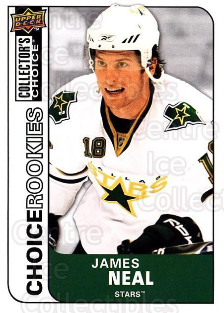 2008-09 Collectors Choice #229 James Neal<br/>4 In Stock - $2.00 each - <a href=https://centericecollectibles.foxycart.com/cart?name=2008-09%20Collectors%20Choice%20%23229%20James%20Neal...&quantity_max=4&price=$2.00&code=279905 class=foxycart> Buy it now! </a>