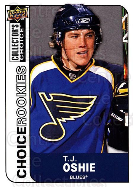 2008-09 Collectors Choice #232 TJ Oshie<br/>2 In Stock - $2.00 each - <a href=https://centericecollectibles.foxycart.com/cart?name=2008-09%20Collectors%20Choice%20%23232%20TJ%20Oshie...&quantity_max=2&price=$2.00&code=279908 class=foxycart> Buy it now! </a>