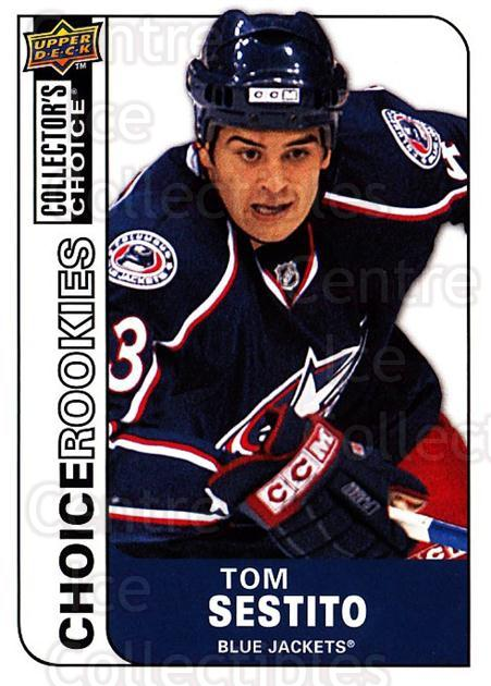 2008-09 Collectors Choice #241 Tom Sestito<br/>3 In Stock - $2.00 each - <a href=https://centericecollectibles.foxycart.com/cart?name=2008-09%20Collectors%20Choice%20%23241%20Tom%20Sestito...&quantity_max=3&price=$2.00&code=279917 class=foxycart> Buy it now! </a>