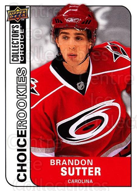 2008-09 Collectors Choice #243 Brandon Sutter<br/>3 In Stock - $2.00 each - <a href=https://centericecollectibles.foxycart.com/cart?name=2008-09%20Collectors%20Choice%20%23243%20Brandon%20Sutter...&quantity_max=3&price=$2.00&code=279919 class=foxycart> Buy it now! </a>