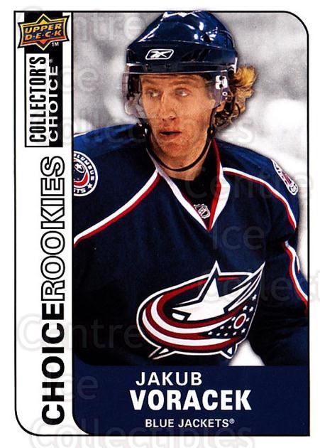 2008-09 Collectors Choice #247 Jakub Voracek<br/>3 In Stock - $3.00 each - <a href=https://centericecollectibles.foxycart.com/cart?name=2008-09%20Collectors%20Choice%20%23247%20Jakub%20Voracek...&quantity_max=3&price=$3.00&code=279923 class=foxycart> Buy it now! </a>