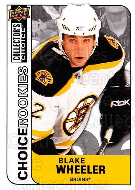 2008-09 Collectors Choice #249 Blake Wheeler<br/>4 In Stock - $2.00 each - <a href=https://centericecollectibles.foxycart.com/cart?name=2008-09%20Collectors%20Choice%20%23249%20Blake%20Wheeler...&quantity_max=4&price=$2.00&code=279925 class=foxycart> Buy it now! </a>