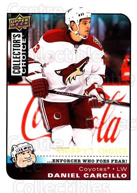 2008-09 Collectors Choice #284 Daniel Carcillo<br/>1 In Stock - $3.00 each - <a href=https://centericecollectibles.foxycart.com/cart?name=2008-09%20Collectors%20Choice%20%23284%20Daniel%20Carcillo...&quantity_max=1&price=$3.00&code=279960 class=foxycart> Buy it now! </a>