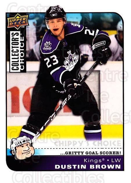 2008-09 Collectors Choice #286 Dustin Brown<br/>2 In Stock - $3.00 each - <a href=https://centericecollectibles.foxycart.com/cart?name=2008-09%20Collectors%20Choice%20%23286%20Dustin%20Brown...&quantity_max=2&price=$3.00&code=279962 class=foxycart> Buy it now! </a>