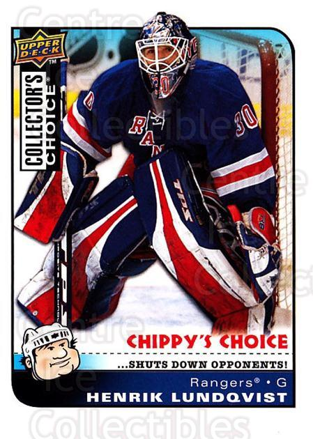 2008-09 Collectors Choice #289 Henrik Lundqvist<br/>2 In Stock - $3.00 each - <a href=https://centericecollectibles.foxycart.com/cart?name=2008-09%20Collectors%20Choice%20%23289%20Henrik%20Lundqvis...&quantity_max=2&price=$3.00&code=279965 class=foxycart> Buy it now! </a>
