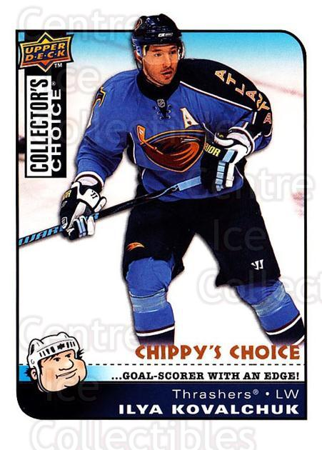 2008-09 Collectors Choice #291 Ilya Kovalchuk<br/>3 In Stock - $3.00 each - <a href=https://centericecollectibles.foxycart.com/cart?name=2008-09%20Collectors%20Choice%20%23291%20Ilya%20Kovalchuk...&quantity_max=3&price=$3.00&code=279967 class=foxycart> Buy it now! </a>