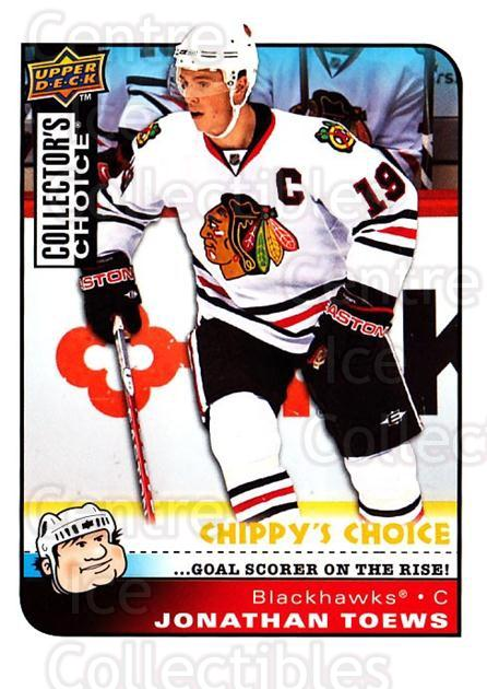 2008-09 Collectors Choice #292 Jonathan Toews<br/>3 In Stock - $3.00 each - <a href=https://centericecollectibles.foxycart.com/cart?name=2008-09%20Collectors%20Choice%20%23292%20Jonathan%20Toews...&quantity_max=3&price=$3.00&code=279968 class=foxycart> Buy it now! </a>