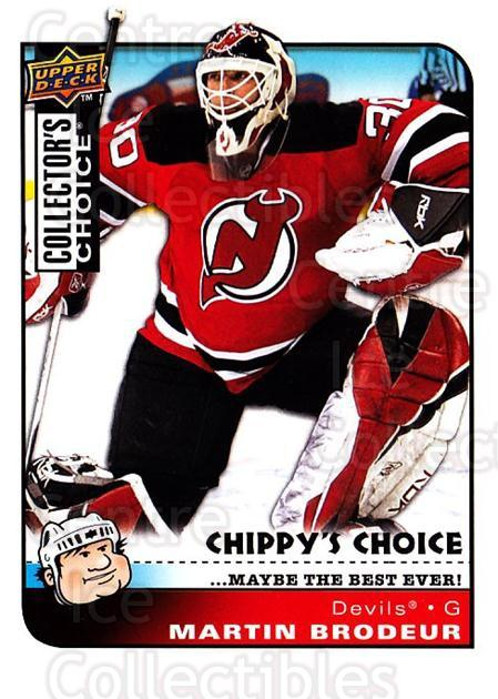 2008-09 Collectors Choice #293 Martin Brodeur<br/>2 In Stock - $3.00 each - <a href=https://centericecollectibles.foxycart.com/cart?name=2008-09%20Collectors%20Choice%20%23293%20Martin%20Brodeur...&quantity_max=2&price=$3.00&code=279969 class=foxycart> Buy it now! </a>