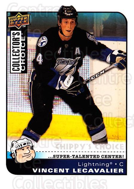 2008-09 Collectors Choice #298 Vincent Lecavalier<br/>2 In Stock - $3.00 each - <a href=https://centericecollectibles.foxycart.com/cart?name=2008-09%20Collectors%20Choice%20%23298%20Vincent%20Lecaval...&quantity_max=2&price=$3.00&code=279974 class=foxycart> Buy it now! </a>