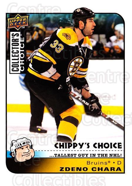 2008-09 Collectors Choice #300 Zdeno Chara<br/>2 In Stock - $3.00 each - <a href=https://centericecollectibles.foxycart.com/cart?name=2008-09%20Collectors%20Choice%20%23300%20Zdeno%20Chara...&quantity_max=2&price=$3.00&code=279976 class=foxycart> Buy it now! </a>