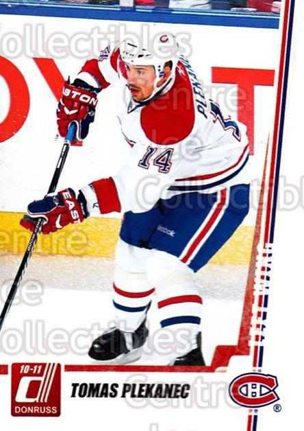 2010-11 Donruss #177 Tomas Plekanec<br/>6 In Stock - $1.00 each - <a href=https://centericecollectibles.foxycart.com/cart?name=2010-11%20Donruss%20%23177%20Tomas%20Plekanec...&quantity_max=6&price=$1.00&code=280153 class=foxycart> Buy it now! </a>