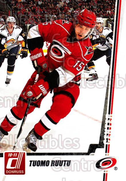 2010-11 Donruss #206 Tuomo Ruutu<br/>6 In Stock - $1.00 each - <a href=https://centericecollectibles.foxycart.com/cart?name=2010-11%20Donruss%20%23206%20Tuomo%20Ruutu...&quantity_max=6&price=$1.00&code=280182 class=foxycart> Buy it now! </a>