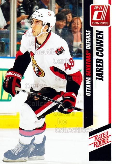 2010-11 Donruss #262 Jared Cowen<br/>3 In Stock - $3.00 each - <a href=https://centericecollectibles.foxycart.com/cart?name=2010-11%20Donruss%20%23262%20Jared%20Cowen...&quantity_max=3&price=$3.00&code=280238 class=foxycart> Buy it now! </a>