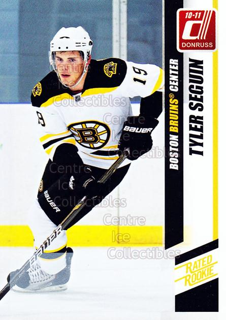 2010-11 Donruss #299 Tyler Seguin<br/>1 In Stock - $5.00 each - <a href=https://centericecollectibles.foxycart.com/cart?name=2010-11%20Donruss%20%23299%20Tyler%20Seguin...&quantity_max=1&price=$5.00&code=280275 class=foxycart> Buy it now! </a>
