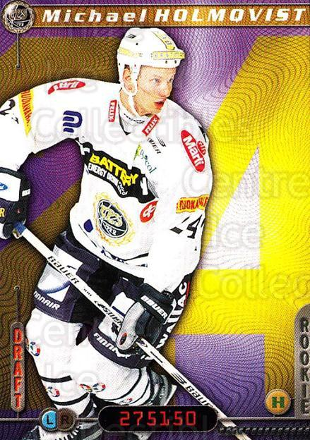 2000-01 Finnish Cardset #221 Michael Holmqvist<br/>2 In Stock - $2.00 each - <a href=https://centericecollectibles.foxycart.com/cart?name=2000-01%20Finnish%20Cardset%20%23221%20Michael%20Holmqvi...&quantity_max=2&price=$2.00&code=280441 class=foxycart> Buy it now! </a>