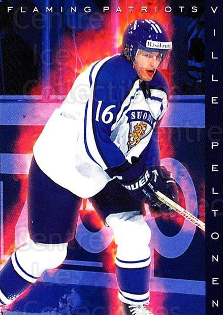 1999-00 Finnish Cardset #195 Ville Peltonen<br/>4 In Stock - $2.00 each - <a href=https://centericecollectibles.foxycart.com/cart?name=1999-00%20Finnish%20Cardset%20%23195%20Ville%20Peltonen...&quantity_max=4&price=$2.00&code=280455 class=foxycart> Buy it now! </a>