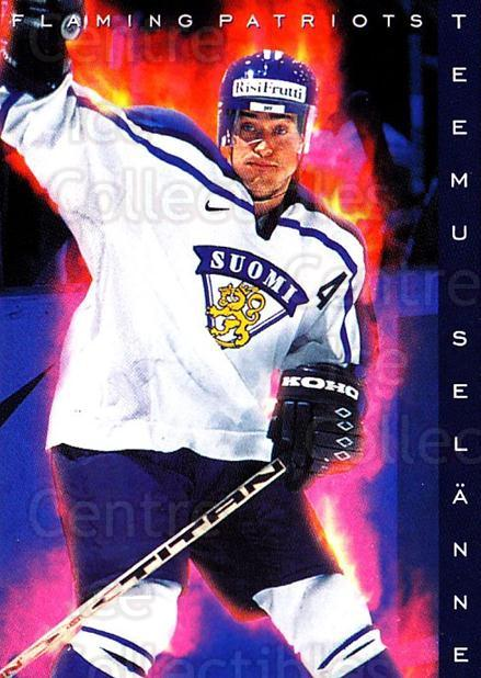 1999-00 Finnish Cardset #197 Teemu Selanne<br/>1 In Stock - $3.00 each - <a href=https://centericecollectibles.foxycart.com/cart?name=1999-00%20Finnish%20Cardset%20%23197%20Teemu%20Selanne...&quantity_max=1&price=$3.00&code=280456 class=foxycart> Buy it now! </a>