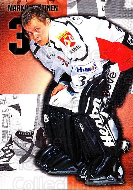 1999-00 Finnish Cardset #271 Markus Hatinen<br/>1 In Stock - $2.00 each - <a href=https://centericecollectibles.foxycart.com/cart?name=1999-00%20Finnish%20Cardset%20%23271%20Markus%20Hatinen...&quantity_max=1&price=$2.00&code=280459 class=foxycart> Buy it now! </a>