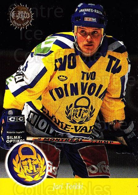 1994-95 Finnish SISU #13 Jari Torkki<br/>2 In Stock - $2.00 each - <a href=https://centericecollectibles.foxycart.com/cart?name=1994-95%20Finnish%20SISU%20%2313%20Jari%20Torkki...&quantity_max=2&price=$2.00&code=280481 class=foxycart> Buy it now! </a>