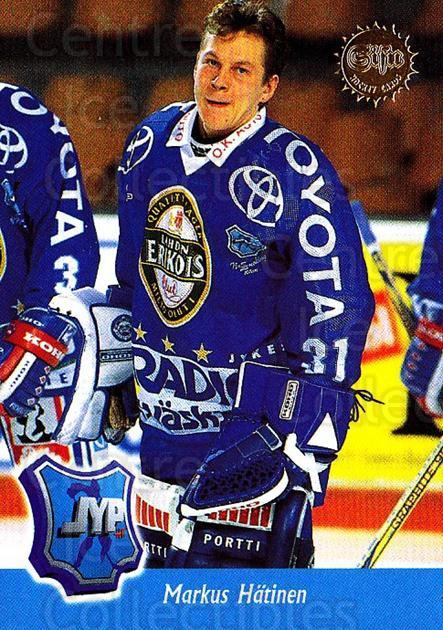 1994-95 Finnish SISU #253 Markus Hatinen<br/>1 In Stock - $2.00 each - <a href=https://centericecollectibles.foxycart.com/cart?name=1994-95%20Finnish%20SISU%20%23253%20Markus%20Hatinen...&quantity_max=1&price=$2.00&code=280505 class=foxycart> Buy it now! </a>