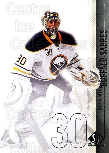 2010-11 Sp Authentic #13 Ryan Miller<br/>3 In Stock - $1.00 each - <a href=https://centericecollectibles.foxycart.com/cart?name=2010-11%20Sp%20Authentic%20%2313%20Ryan%20Miller...&quantity_max=3&price=$1.00&code=280532 class=foxycart> Buy it now! </a>
