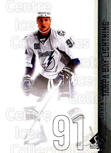 2010-11 Sp Authentic #32 Steven Stamkos<br/>2 In Stock - $2.00 each - <a href=https://centericecollectibles.foxycart.com/cart?name=2010-11%20Sp%20Authentic%20%2332%20Steven%20Stamkos...&quantity_max=2&price=$2.00&code=280551 class=foxycart> Buy it now! </a>
