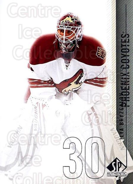 2010-11 Sp Authentic #63 Ilya Bryzgalov<br/>3 In Stock - $1.00 each - <a href=https://centericecollectibles.foxycart.com/cart?name=2010-11%20Sp%20Authentic%20%2363%20Ilya%20Bryzgalov...&quantity_max=3&price=$1.00&code=280582 class=foxycart> Buy it now! </a>