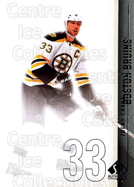 2010-11 Sp Authentic #96 Zdeno Chara<br/>2 In Stock - $1.00 each - <a href=https://centericecollectibles.foxycart.com/cart?name=2010-11%20Sp%20Authentic%20%2396%20Zdeno%20Chara...&quantity_max=2&price=$1.00&code=280615 class=foxycart> Buy it now! </a>