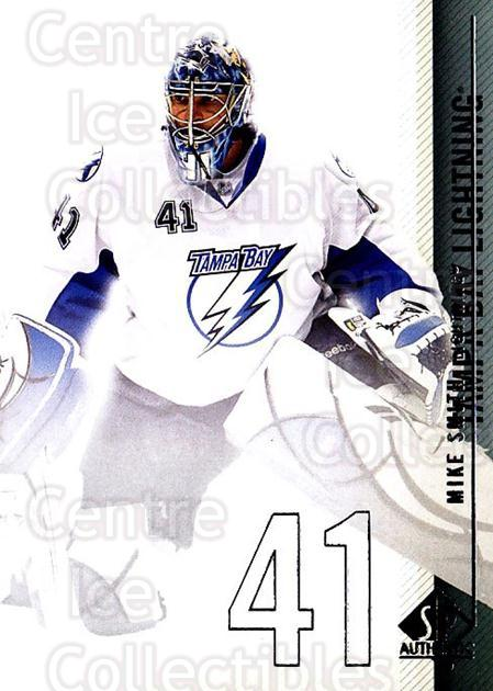 2010-11 Sp Authentic #113 Mike Smith<br/>3 In Stock - $1.00 each - <a href=https://centericecollectibles.foxycart.com/cart?name=2010-11%20Sp%20Authentic%20%23113%20Mike%20Smith...&quantity_max=3&price=$1.00&code=280632 class=foxycart> Buy it now! </a>