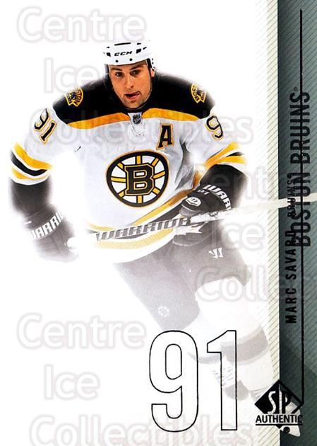2010-11 Sp Authentic #132 Marc Savard<br/>3 In Stock - $1.00 each - <a href=https://centericecollectibles.foxycart.com/cart?name=2010-11%20Sp%20Authentic%20%23132%20Marc%20Savard...&quantity_max=3&price=$1.00&code=280651 class=foxycart> Buy it now! </a>