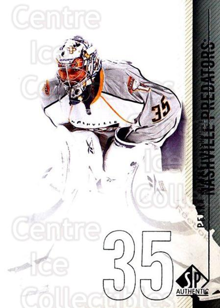 2010-11 Sp Authentic #150 Pekka Rinne<br/>2 In Stock - $1.00 each - <a href=https://centericecollectibles.foxycart.com/cart?name=2010-11%20Sp%20Authentic%20%23150%20Pekka%20Rinne...&quantity_max=2&price=$1.00&code=280669 class=foxycart> Buy it now! </a>