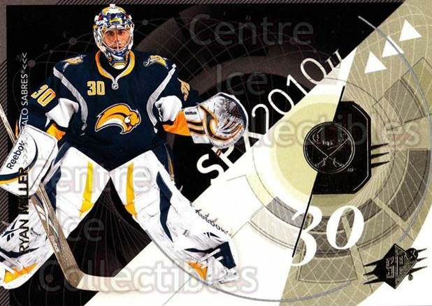 2010-11 Spx #12 Ryan Miller<br/>12 In Stock - $1.00 each - <a href=https://centericecollectibles.foxycart.com/cart?name=2010-11%20Spx%20%2312%20Ryan%20Miller...&quantity_max=12&price=$1.00&code=280681 class=foxycart> Buy it now! </a>