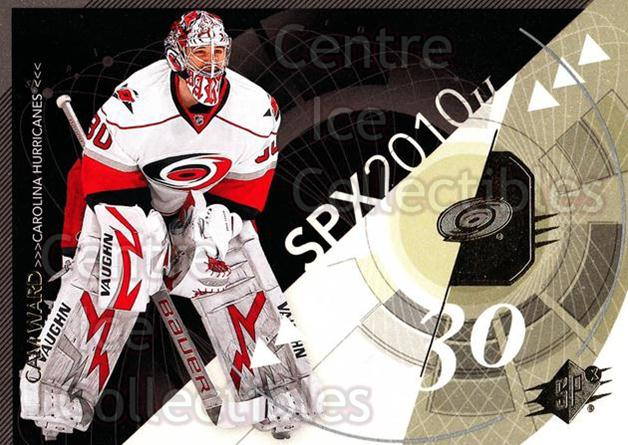 2010-11 Spx #19 Cam Ward<br/>13 In Stock - $1.00 each - <a href=https://centericecollectibles.foxycart.com/cart?name=2010-11%20Spx%20%2319%20Cam%20Ward...&price=$1.00&code=280688 class=foxycart> Buy it now! </a>