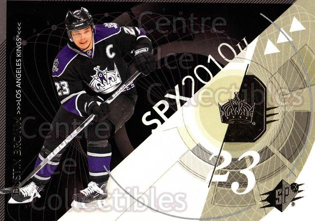 2010-11 Spx #47 Dustin Brown<br/>13 In Stock - $1.00 each - <a href=https://centericecollectibles.foxycart.com/cart?name=2010-11%20Spx%20%2347%20Dustin%20Brown...&quantity_max=13&price=$1.00&code=280716 class=foxycart> Buy it now! </a>