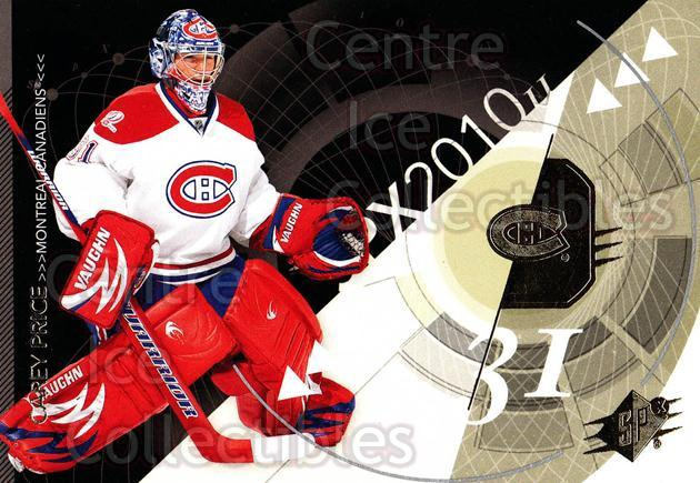 2010-11 Spx #52 Carey Price<br/>4 In Stock - $2.00 each - <a href=https://centericecollectibles.foxycart.com/cart?name=2010-11%20Spx%20%2352%20Carey%20Price...&price=$2.00&code=280721 class=foxycart> Buy it now! </a>