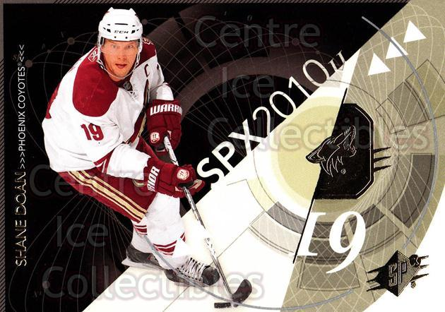 2010-11 Spx #76 Shane Doan<br/>13 In Stock - $1.00 each - <a href=https://centericecollectibles.foxycart.com/cart?name=2010-11%20Spx%20%2376%20Shane%20Doan...&quantity_max=13&price=$1.00&code=280745 class=foxycart> Buy it now! </a>