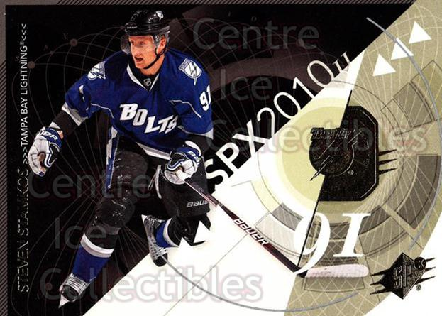 2010-11 Spx #89 Steven Stamkos<br/>12 In Stock - $2.00 each - <a href=https://centericecollectibles.foxycart.com/cart?name=2010-11%20Spx%20%2389%20Steven%20Stamkos...&price=$2.00&code=280758 class=foxycart> Buy it now! </a>