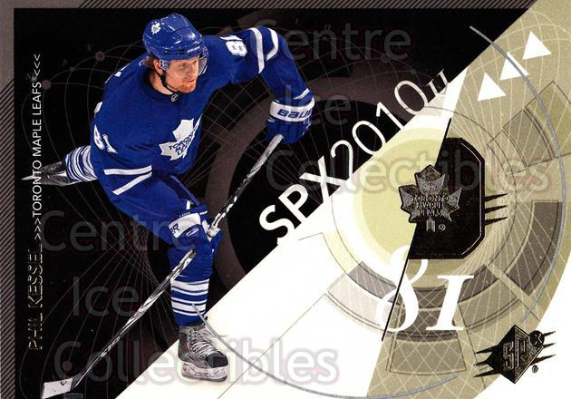 2010-11 Spx #91 Phil Kessel<br/>13 In Stock - $1.00 each - <a href=https://centericecollectibles.foxycart.com/cart?name=2010-11%20Spx%20%2391%20Phil%20Kessel...&quantity_max=13&price=$1.00&code=280760 class=foxycart> Buy it now! </a>