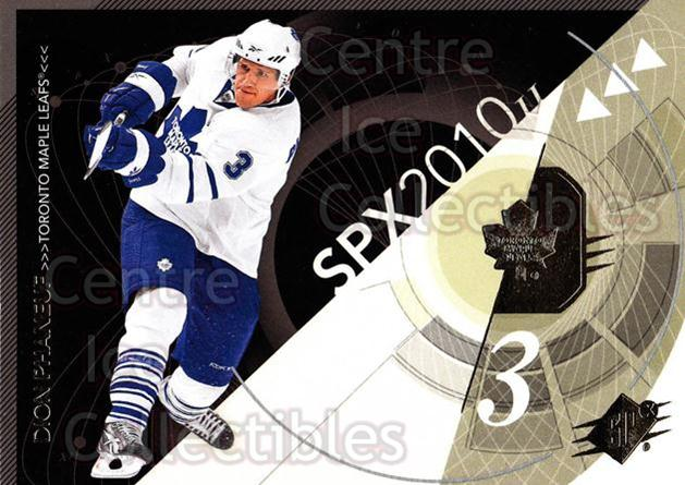 2010-11 Spx #92 Dion Phaneuf<br/>13 In Stock - $1.00 each - <a href=https://centericecollectibles.foxycart.com/cart?name=2010-11%20Spx%20%2392%20Dion%20Phaneuf...&price=$1.00&code=280761 class=foxycart> Buy it now! </a>